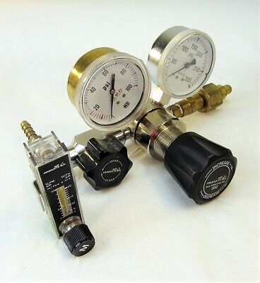 Air Products E11-n145g Regulator Max 3000 Psi Inlet With Flow Meter Lage Prijs