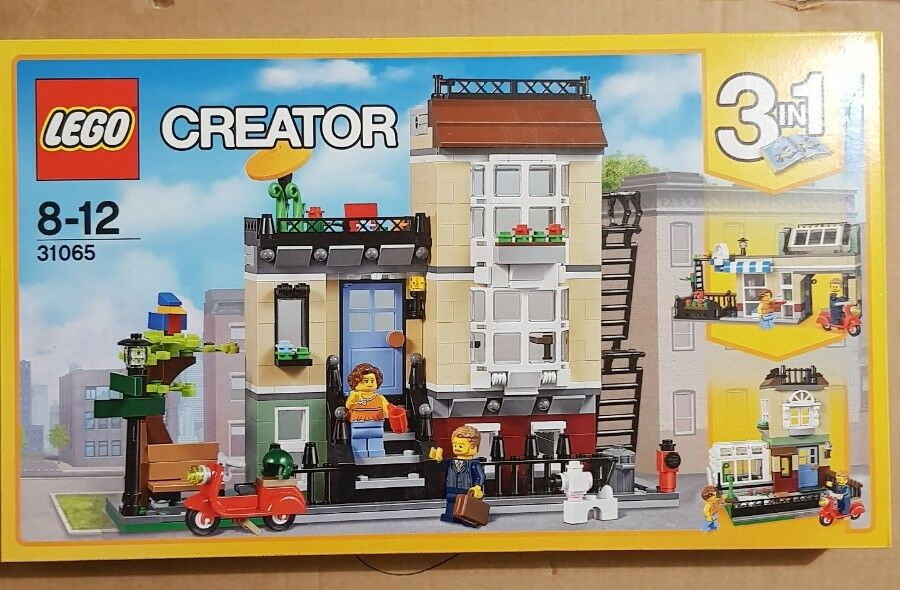 Lego  Creator City Modular Town House Building famille Nouvelle Villa RARE House 31065.  prix de gros