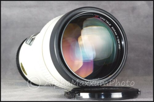 1 of 1 - Konica Minolta Maxxum 200mm f/2.8 APO AF G Prime Telephoto Lens - Near Mint