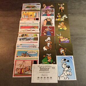 5 Stickers Astérix aux choix 60 ans d/'aventures Carrefour . Panini Family .