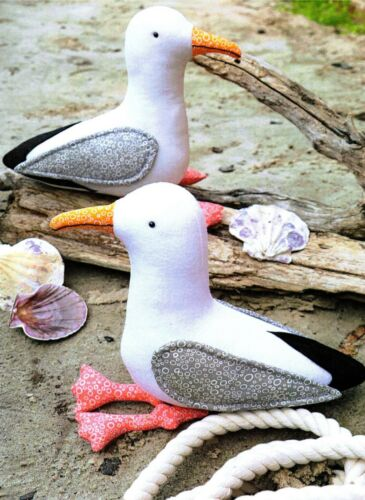 Gary /& Glen Seagulls Seagull Gull Gulls Bird Sewing Craft PATTERN