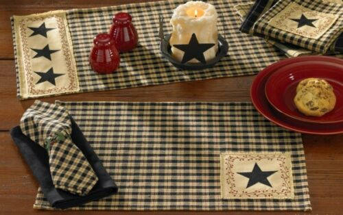 Star Patch Placemats Set of 4