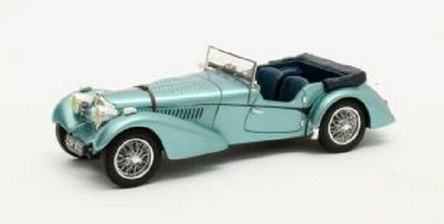 1 43 Matrix Bugatti T57SC Sports Tourer Vanden Plas Blue Open 1938 MX40205-101