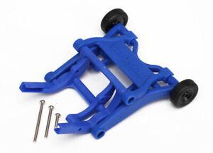 Traxxas-1-10-Rustler-VXL-Wheelie-Bar-Montaje-azul-3678X
