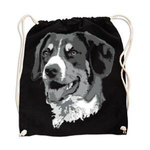 Rucksack GYM Bag Turnbeutel Appenzeller Sennenhund Dog Rasse Hütehund Schutzhund Bauch- & Gürteltaschen