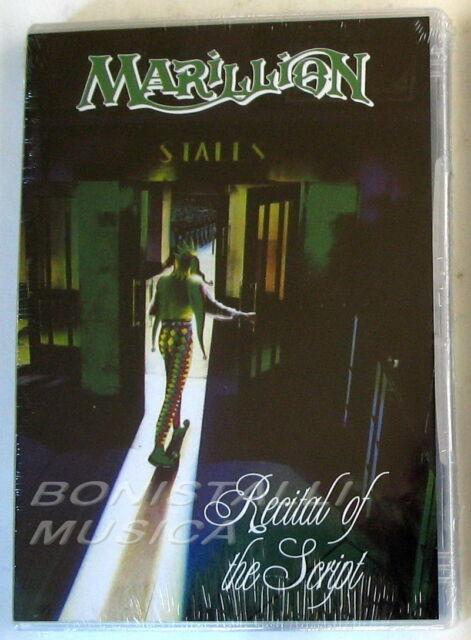 MARILLION - RECITAL OF THE SCRIPT - DVD Sigillato