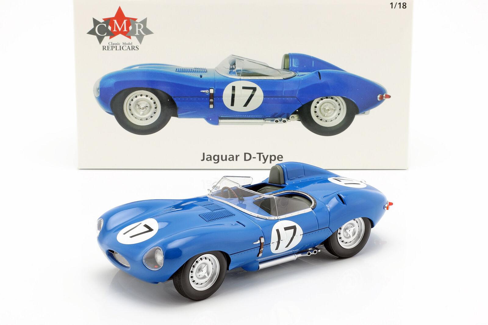 Jaguar D-Type  17 3rd 24h LeMans 1957 Lucas, Brussin 1 18 CMR