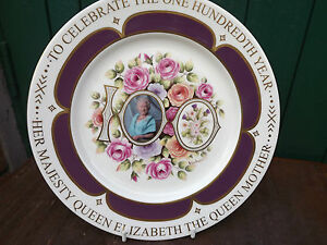 2000 Aynsley China Plate Queen Mother039s 100th Handpainted amp signed only 100 made - <span itemprop='availableAtOrFrom'>Belfast, United Kingdom</span> - 2000 Aynsley China Plate Queen Mother039s 100th Handpainted amp signed only 100 made - Belfast, United Kingdom