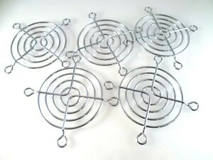 Fan-Grill-Guard-60mm-chrome-computer-use-etc-5-Pieces-OL0370