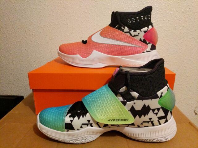 big sale df864 5894f Mens Nike Zoom Hyperrev 2016 BT Be True Size 9 Basketball Shoes 853720 618