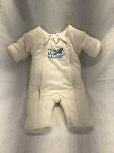 Baby Merlin Magic Sleepsuit Swaddle Transition Cream Small ...