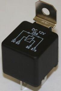 12-Volt-20-Ampere-Offnerrelais-KFZ-Oldtimer-Boot