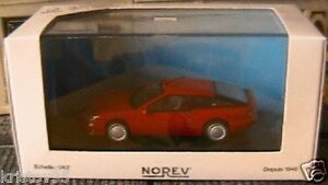 ALPINE-RENAULT-V6-TURBO-ROUGE-NOREV-517801-1-43-NEW-RED-ROSSO-VEHICULE-MINIATURE