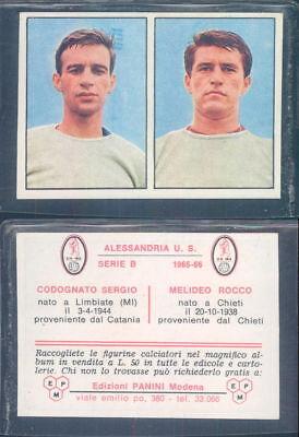 FIGURINA CALCIATORI PANINI 1965//66 SPALAZZI BOLOGNA NUOVA//NEW