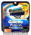 Gillette Fusion Proglide Razor Blades 4 cartridges, 100%AUTHENTIC, #008