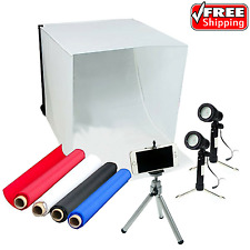 """LimoStudio 16""""x16"""" Table Top Photo Photography Studio Lighting Tent Kit In A Box"""