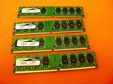 Axiom 2GB (4 x512)  Desktop DDR2 PC2-3200 400MHZ Memory Ram