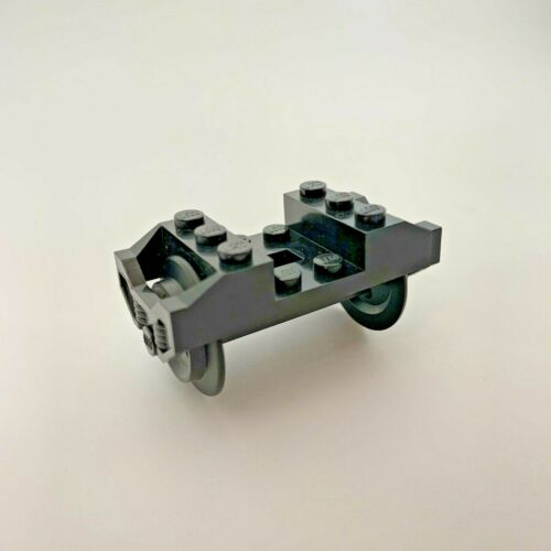 Lego piezas de tren rueda x 2pce EJE TRANSPORTE DE MONTAJE /& COJINETE parte 2878 57878