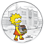 2019-The-Simpsons-Lisa-Simpson-1oz-1-Silver-99-99-Dollar-Proof-Coin thumbnail 2