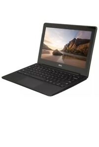 Dell-ChromeBook-Laptop-Notebook-Intel-Celeron-2955U-11-6-4GB-RAM-16GB-SSD-HD
