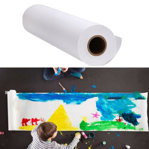 5//10//25m Childrens Easel Paper Roll Gift Wrapping for DIY Painting Arts Crafts