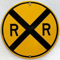 Railroad Crossing Transportation Vintage Train Metal Sign
