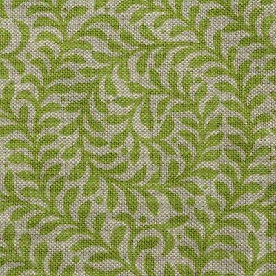 Green /& Yellow Leafy Vines w// Curls Quilting Fabric by Yard  #253b