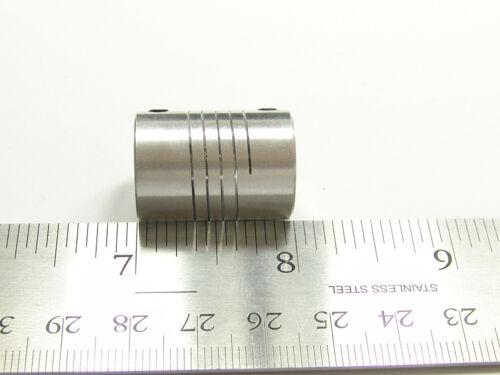 8 mm x 10 mm Aluminum Flexible Shaft Ballscrew Coupler Coupling Linear Motion