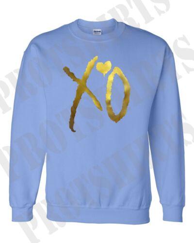 XO the weeknd Gold unisex  xo sweatshirt ovoxo xo the weeknd thur Drake  hoodie