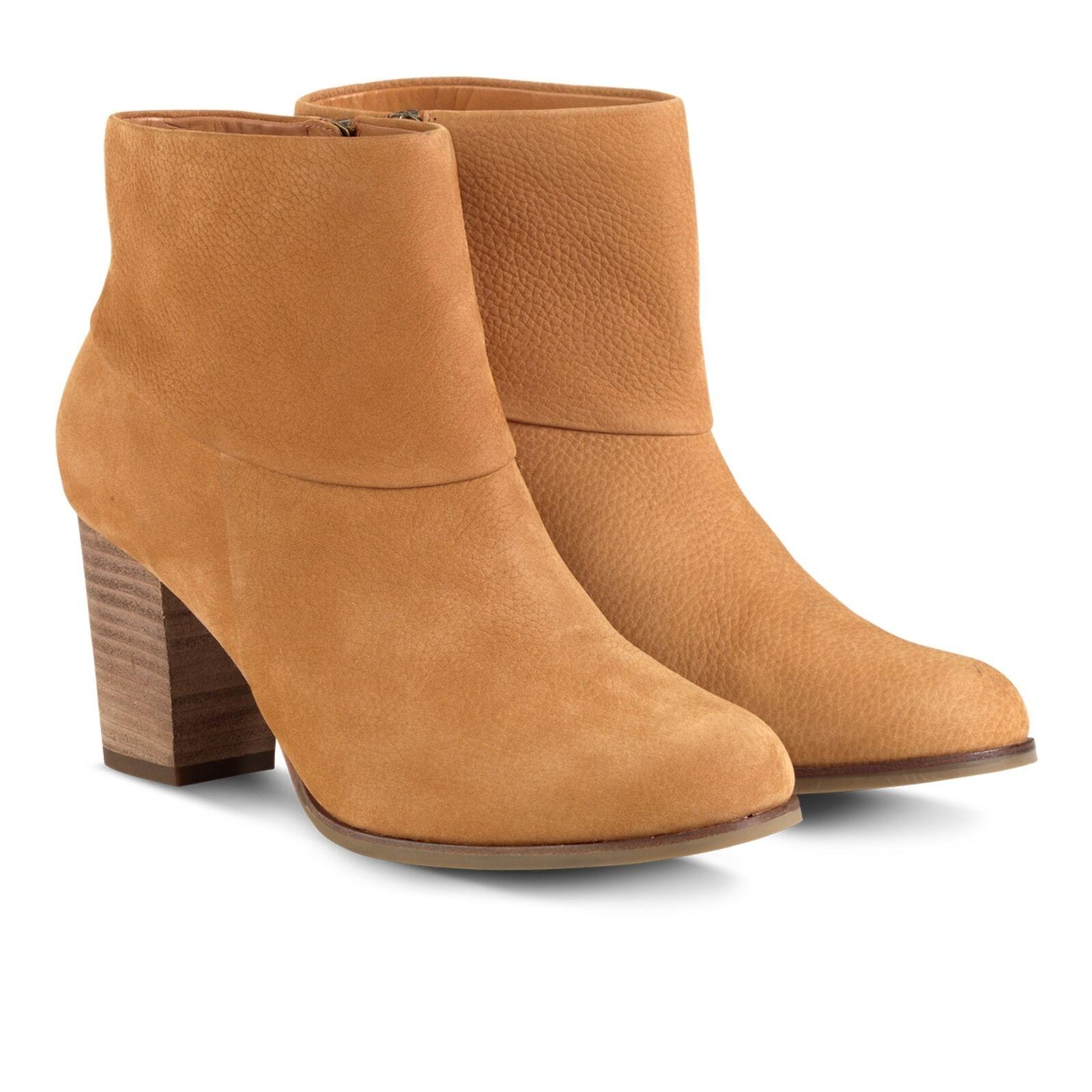 NIB Cole Haan Premium Pelle-lined Ankle Booties Short Stivali Size 8M