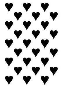 Heart-background-rubber-stamp-Cling-Mounted