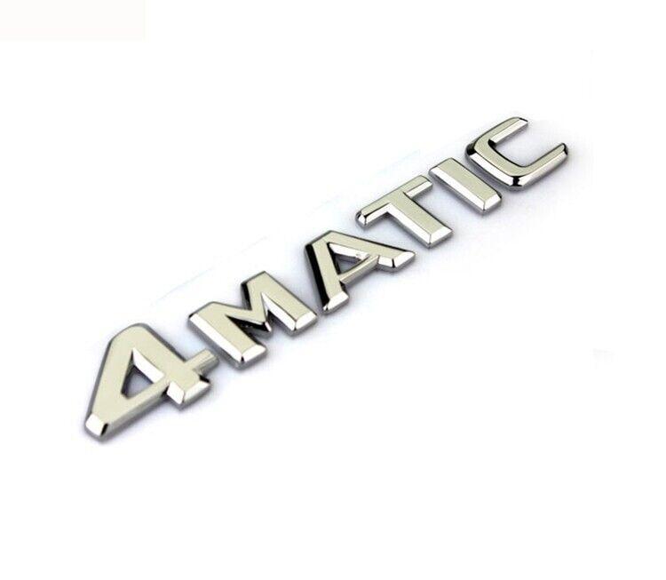 QQJK Logo Emblem for Front Grill//Tailgate Tailgate Trunk Letters Sticker for Mercedes-Benz Bonnet Emblem