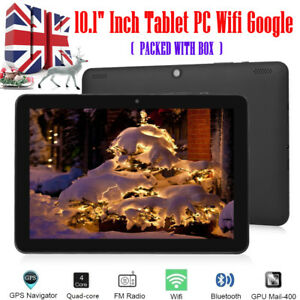 """10.1"""" Tablet PC HD 32GB Google Quad-core Android 6.0 Dual Camera WIFI Tablet UK"""