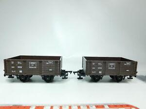 BH17-0-5-2x-Faller-e-train-Spur-0-Gueterwagen-aus-3804-46102-x-09-DB-sehr-gut