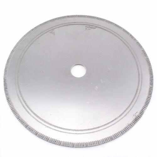 "20/"" inch 500mm SuperThin Diamond Lapidary Saw Blade Notched Arbor 1-1//4/"" Rim 2.5"