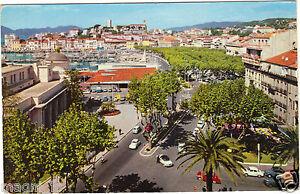 06-TARJETA-POSTAL-POSTAL-CANNES-Vista-general-del-Suquet-y-un-rincon-de-la