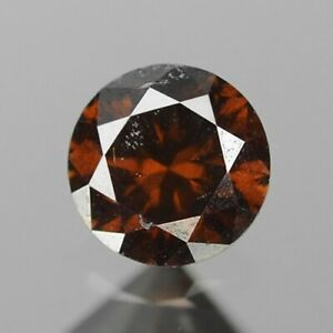 0-10-Carat-NATURAL-Sparkly-Orange-COGNAC-DIAMOND-LOOSE-for-Setting-Round-Cut