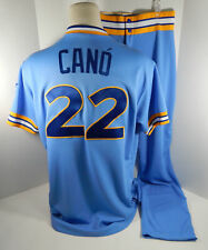 2018 Seattle Mariners Robinson Cano #22 Game Issued Blue 1979 TBTC Jersey Pants