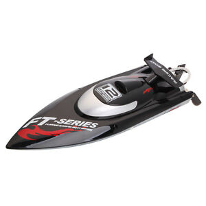 NEW Arrived FT012 Generation 2 2 4G 4CH Brushless RC Racing Boat Black /3812909