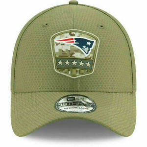 New Era 39Thirty Cap Salute to Service New England Patriots