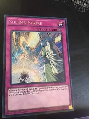MP16-EN231 Solemn Strike Secret Rare 1st Edition
