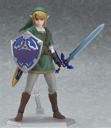 Figma 319 /& 320 The Legend of Zelda LINK Twilight Princess Figure New In Box