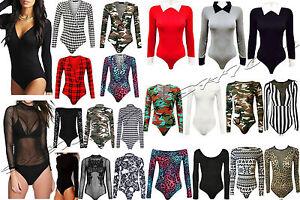 mujer-camuflaje-Leopardo-Azteca-Estampado-De-Tartan-TOP-Ninas-Fiesta-body-size8