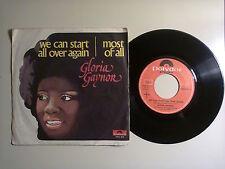 Gloria Gaynor/We Can Start All Over Again-Disco Vinile45 Giri 7 StampaItalia1977
