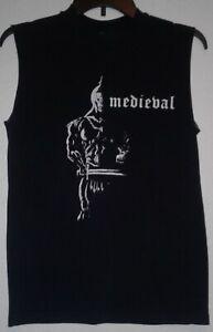 Medieval-Band-t-shirt-Vintage-1985-Cirith-Ungol-Manilla-Road-Metallica-Megadeth