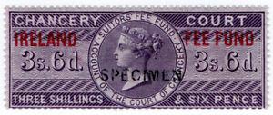 I-B-QV-Revenue-Ireland-Chancery-Fee-Fund-3-6d-specimen