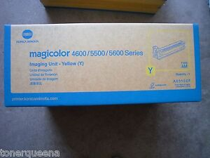 New GENUINE KONICA MINOLTA MagiColor 4650 5550 5650 YELLOW Imaging Unit DRUM