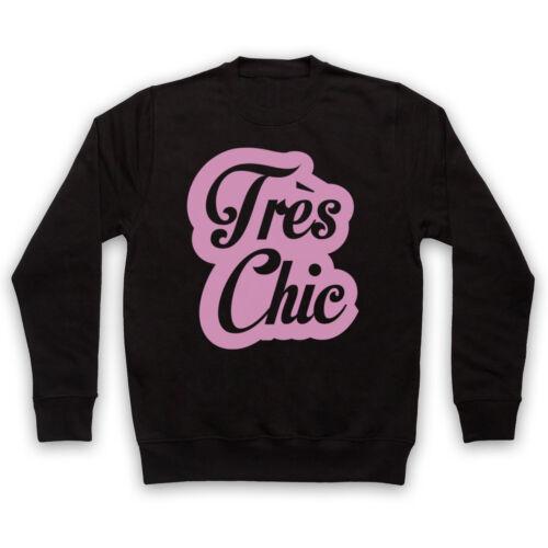TRES CHIC français Slogan Hipster cliché Très Chic Adultes Enfants Sweat
