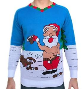 image is loading tree buddees adult funny ugly christmas sweater knit - Hilarious Ugly Christmas Sweaters