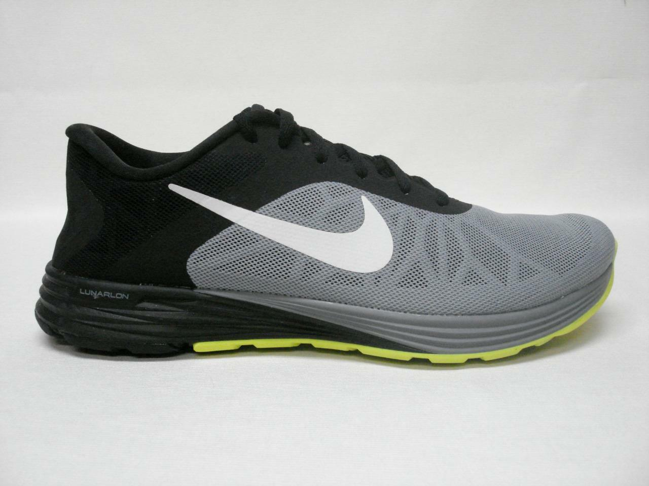 NIB NIKE LUNARLAUNCH  MEN'S MEN'S MEN'S SHOE'S 11 GREY WHITEAWESOME LOOKING SHOE'S 23b4f6